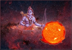 Rama and the Sun